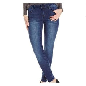 Kensie Effortless Ankle Mid Rise Jeans Size 8